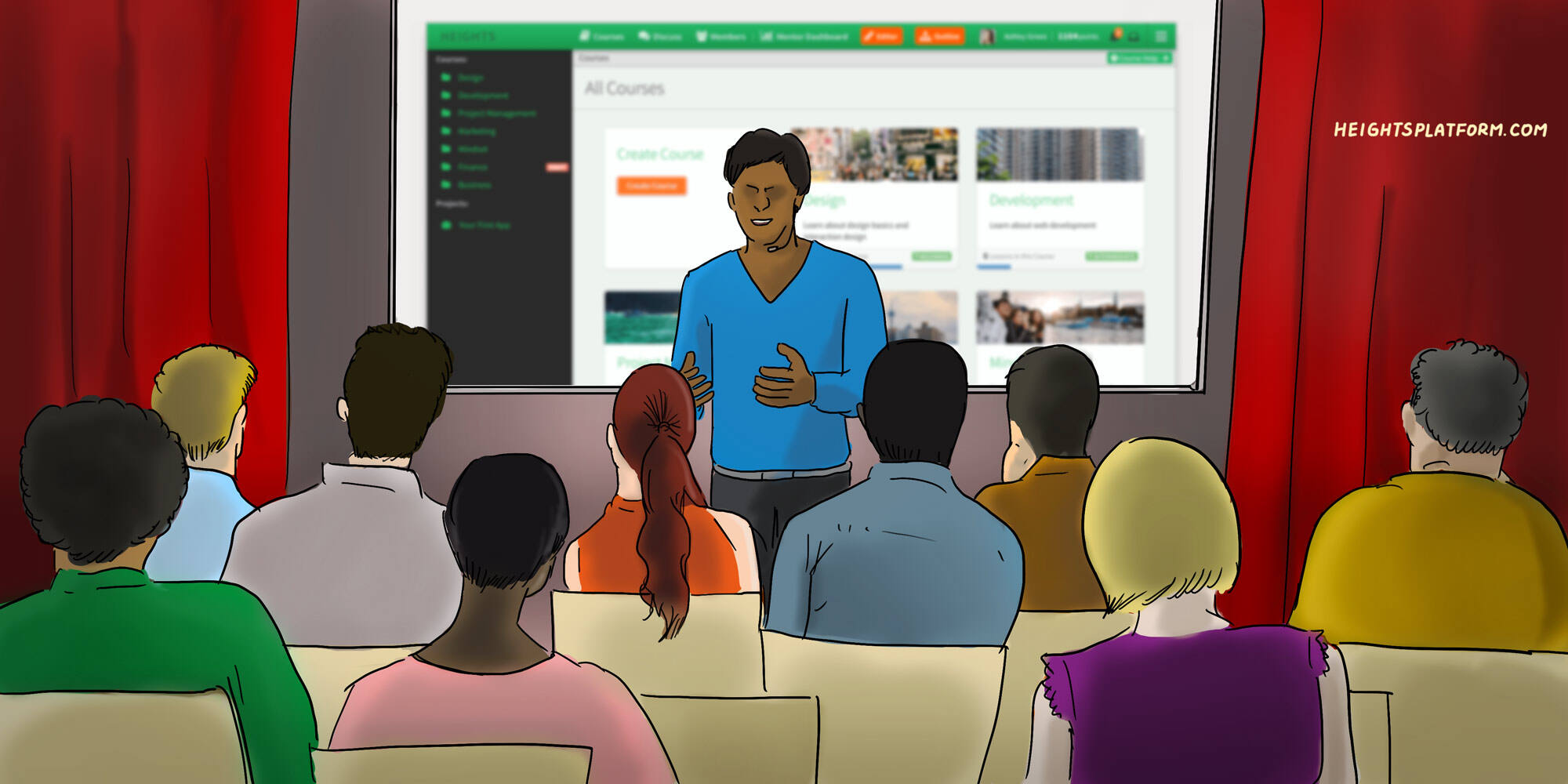 Heights Platform How to Move from 1 On 1 Coaching and Consulting to Create Leverage in Your Business by Selling Online Courses