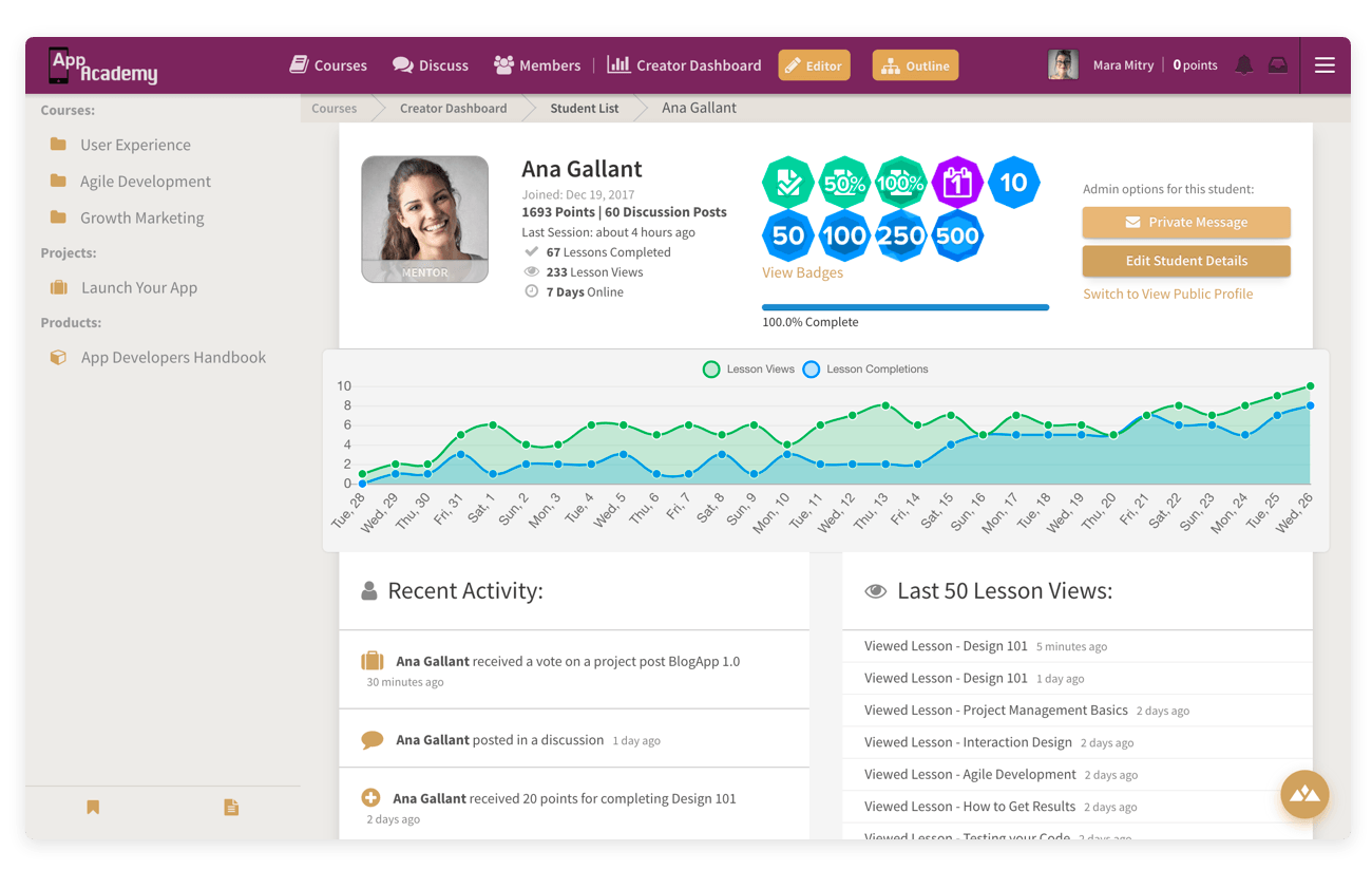 Heights Platform has all the tools you need to create and sell online courses