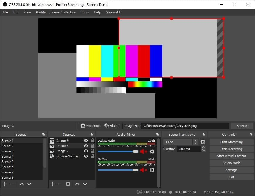 OBS video recording tool for online course creators