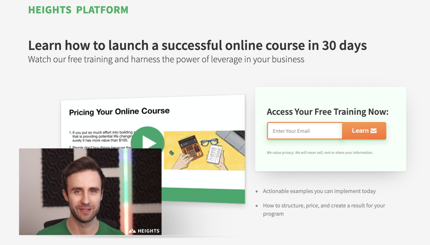 How to Create a Video Lead Magnet for an Online Course