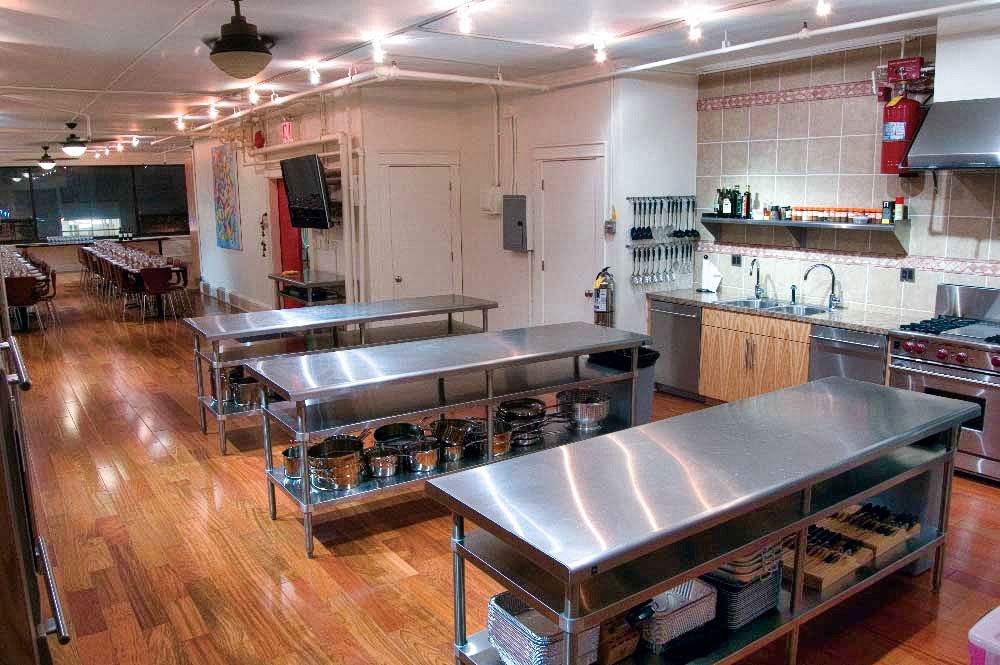 Rustico Cooking Heights Platform Creators live lessons kitchen