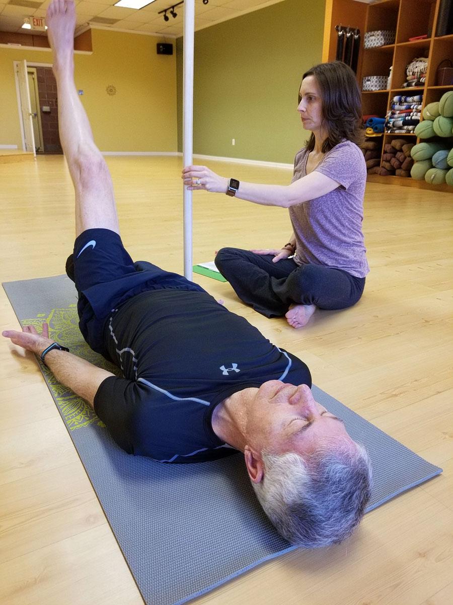 Shelly Coffman Yoga Teacher fitness online course creator Heights Platform