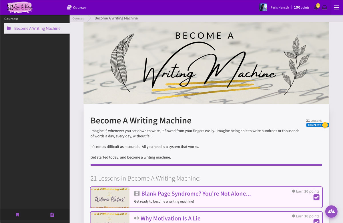 become a writer online course Heights Platform