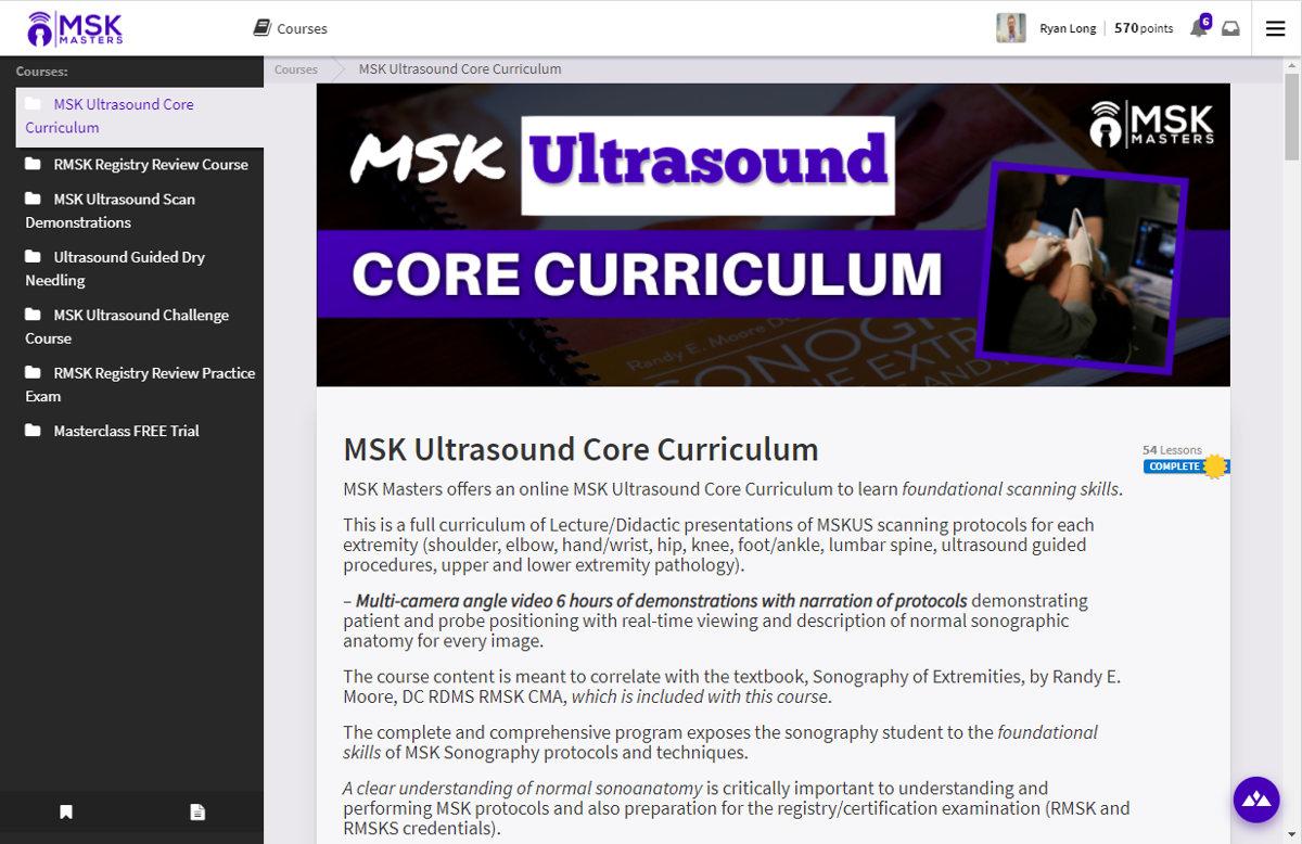 Chiropractic online course Heights Platform