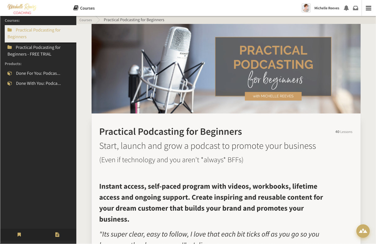 practical podcasting course Heights Platform
