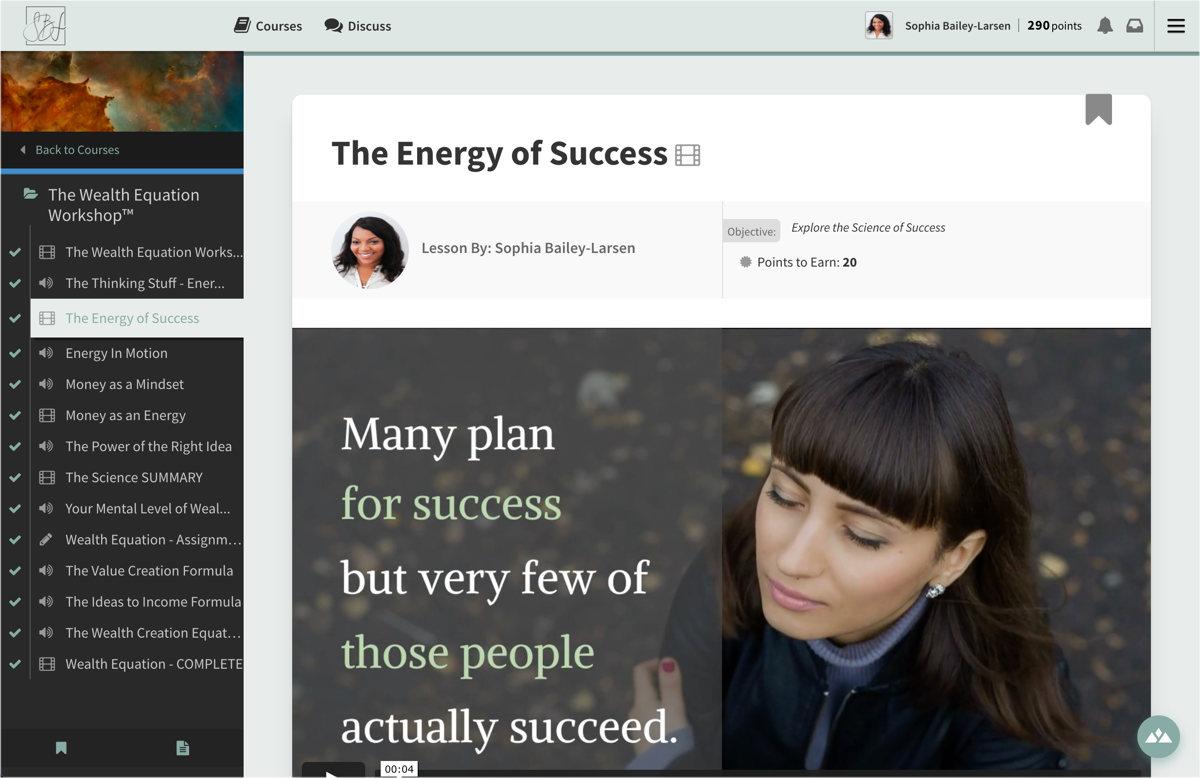wealth workshop online course