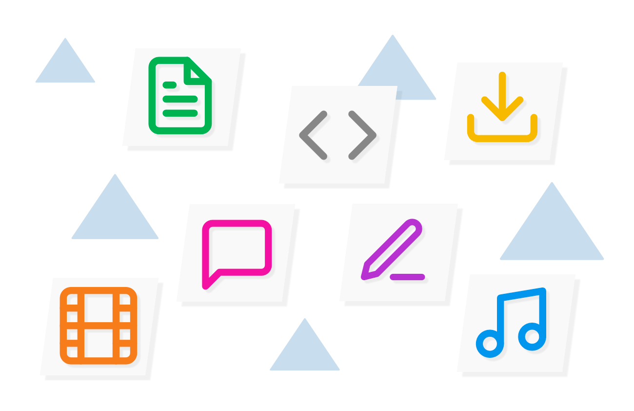 Upload multimedia content to your Heights Platform online course lessons